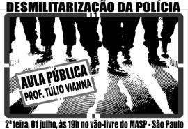 Desmilitarização da Policia