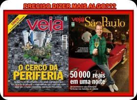 Capas da Revista Veja e Veja São Paulo publicadas em 05 de Novembro de 2013