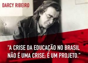 Crise na educação como projeto
