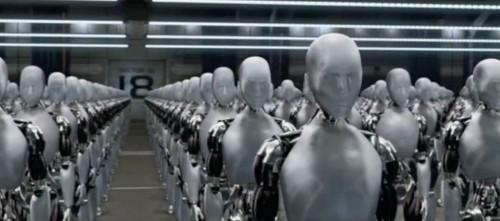 Imagem retirada do filme Eu, Robô.