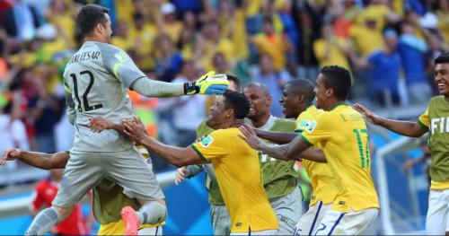 Brasil vence Chile