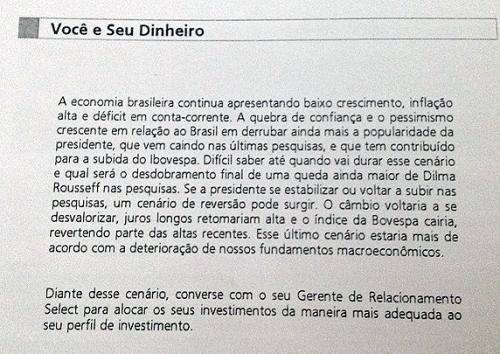 Mensagem do Banco Santander aos Clientes Acima de 10mil
