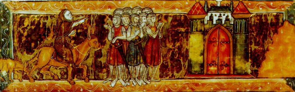 Pedro o Eremita em Cruzada