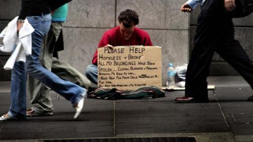 Homeless in NY