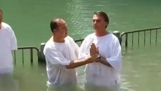 Batismo de Bolsonaro